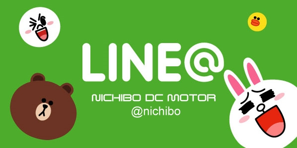 Join NICHIBO DC MOTOR official LINE account